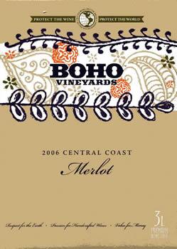Boho Central Coast Merlot