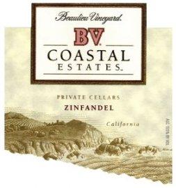BV Coastal Estates Zinfandel