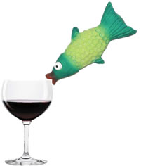 Red wine helps fish live longer