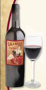 Gala Rouge Pinot Noir
