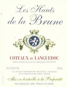 Les Hauts de la Brune Coteaux du Languedoc