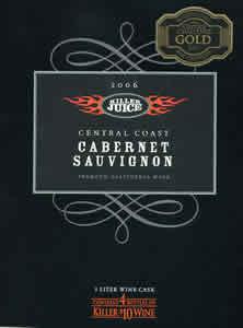Killer Juice Cabernet Sauvignon