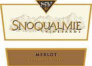 Snoqualmie Merlot