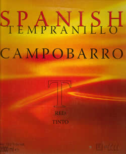 Campobarro Tempranillo 3L