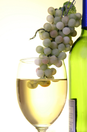 Grapes in Wine