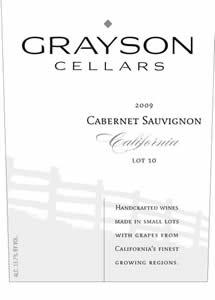 Grayson Cellars Cabernet Sauvignon 2009